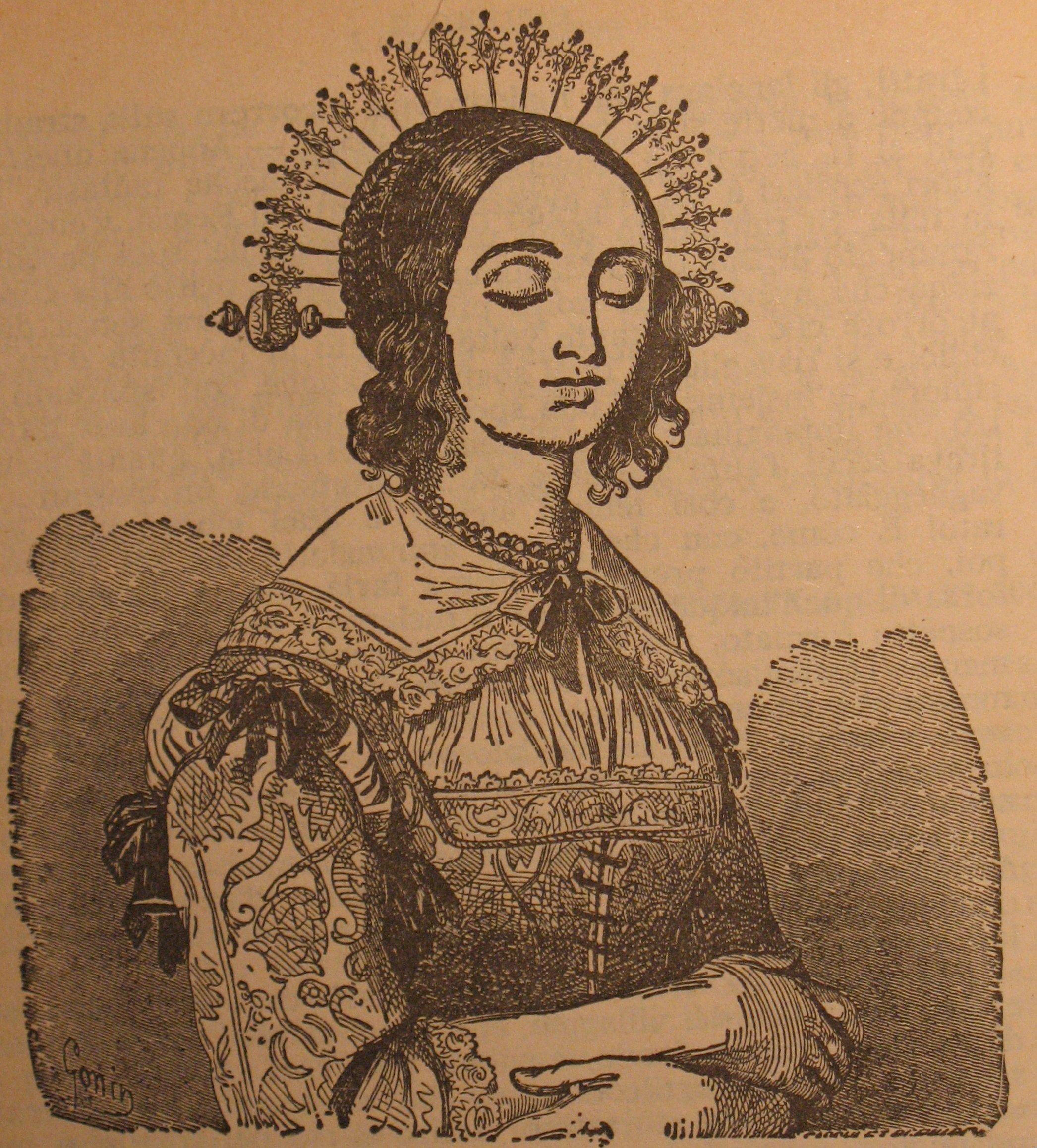 """Lucia Mondella, protagonista de """"I Promessi Sposi"""", di Alessandro Manzoni"""
