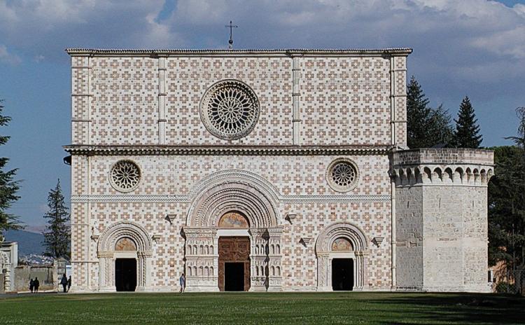 Abruzzo - L'Aquila - Basilica Santa Maria di Collemaggio