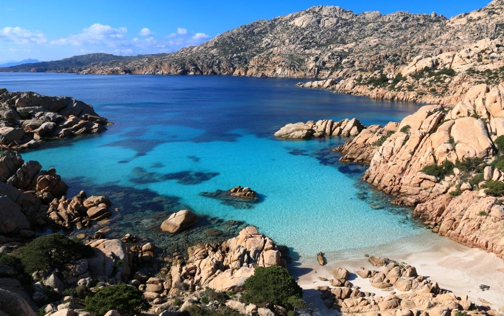 Cala Coticcio, La Maddalena - Sardegna