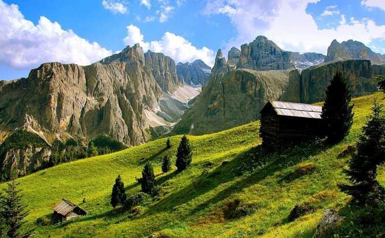 Trentino Alto Adige val de mesdi