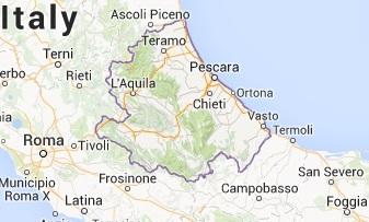 Abruzzo - google map