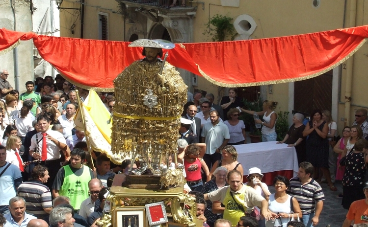 Procession of Saint Rocco - Tolve Basilicata