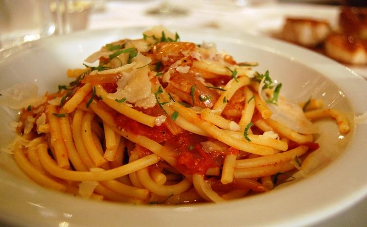 Lazio - Bucatini Amatriciana