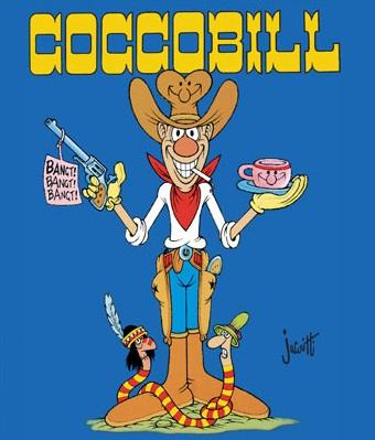 Cocco Bill, personaggio creato dal fumettista Jacovitti