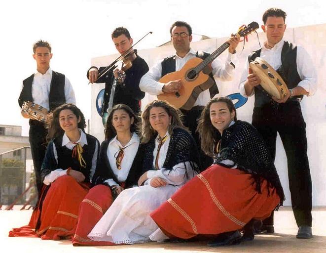 Costumi tipici della comunità greca salentina.