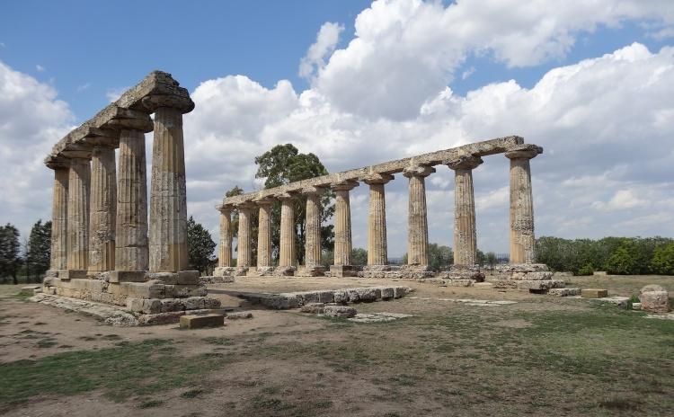 Basilicata - Metaponto - tempio di Hera