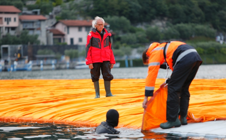 The Floating Piers - Christo e Jeanne Claude - Lago di Iseo