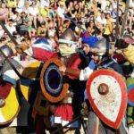 Joust of Districts Oria Apulia Italy