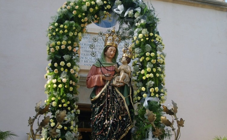 Our Lady of Graces Feast - Roccella Jonica Calabria Italy