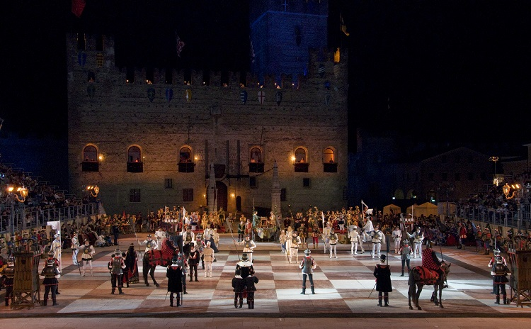 The Chess Game in Marostica, Veneto