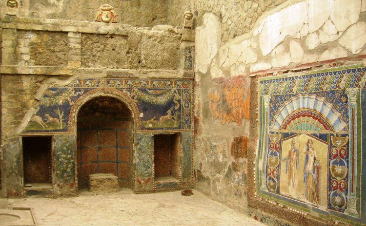 Campania - Ercolano, Casa di Nettuno e Anfitrite