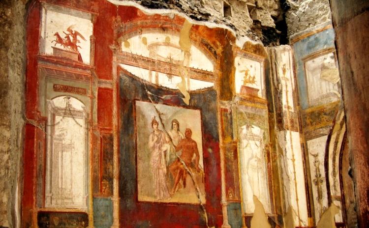 Campania - Ercolano, affresco