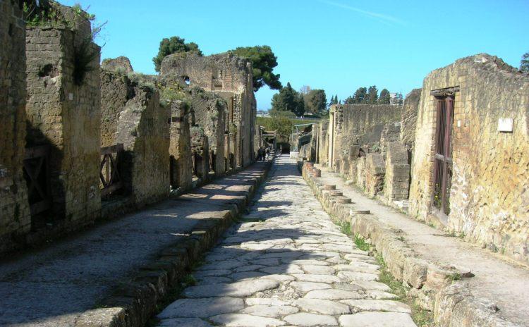 Campania - Ercolano - cardo