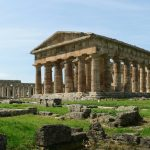 Campania - Paestum, veduta dei templi