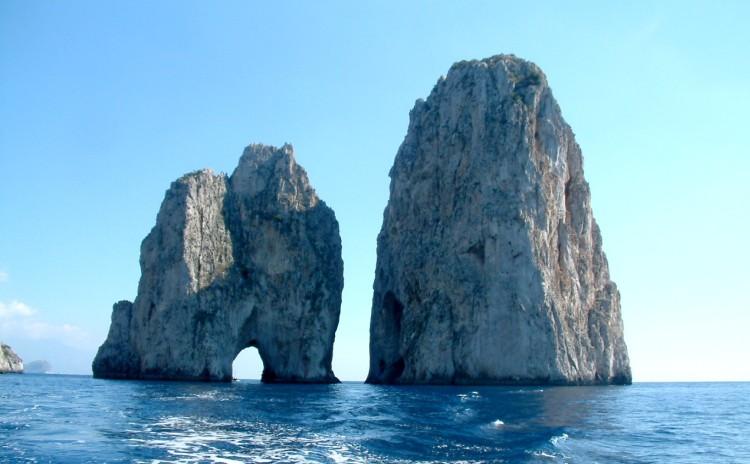 Campania - Capri - Faraglioni
