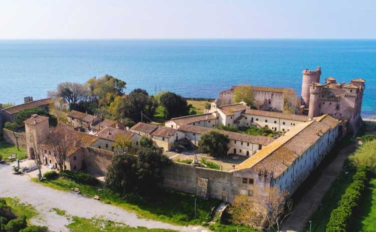 Santa Severa Castle La Città Incantata, Lazio, Italy