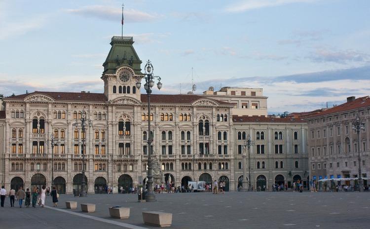 Friuli Venezia Giulia - Trieste - palazzo del Comune