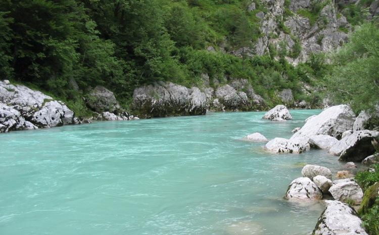 Friuli Venezia Giulia - fiume Isonzo