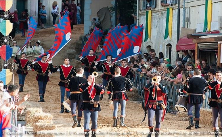 Historical carousel - Saint Oliva's Palio - Lazio Italy
