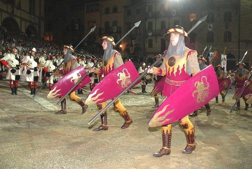 Giostra del Saracino - Arezzo