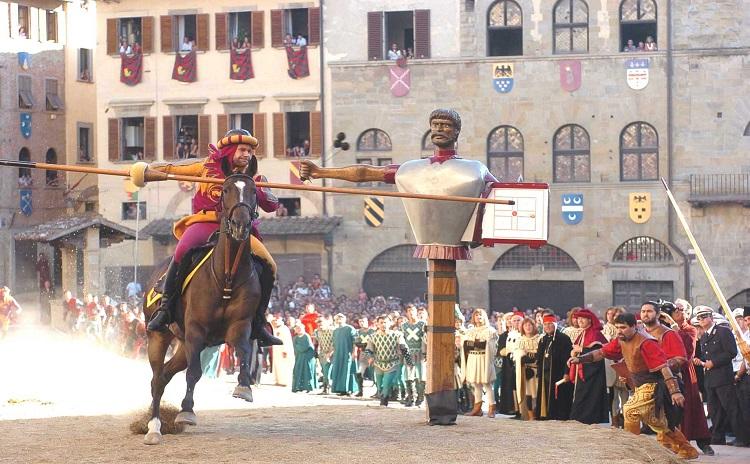 Giostra del Saracino - Arezzo - Toscana
