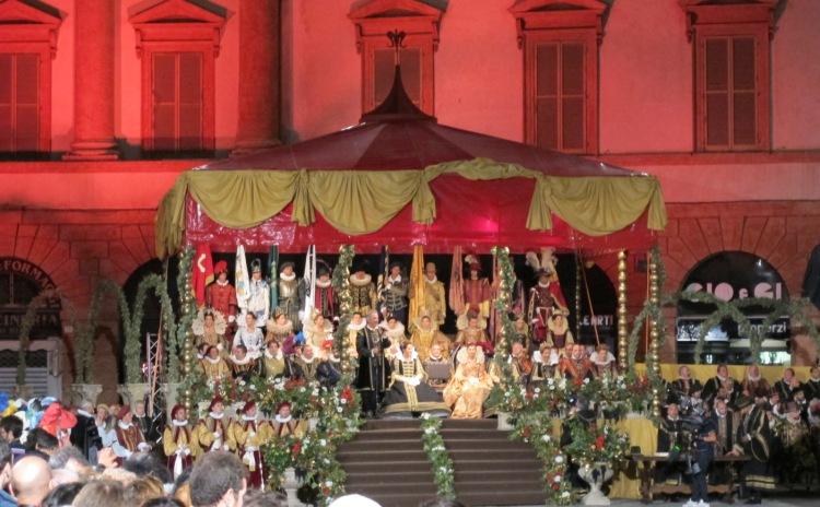 Umbria - Quintana - Parade