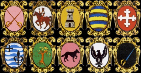 Umbria - Quintana - Emblems of the districs