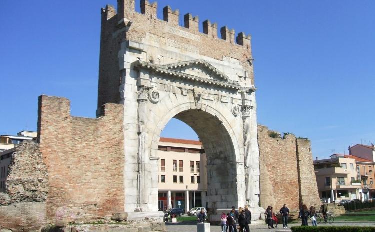 Liguria - Arco d'Augusto, Rimini