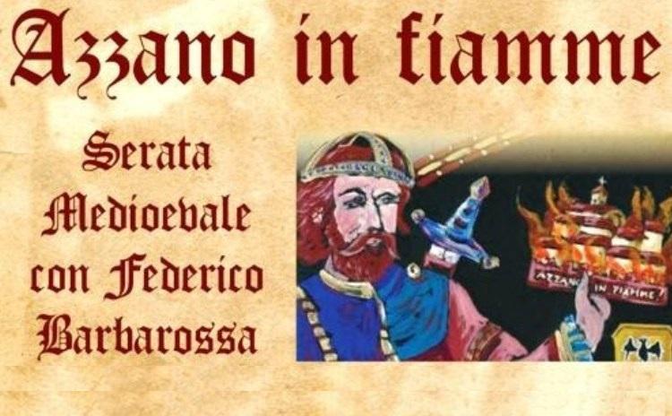 Azzano in fiamme - Piemonte
