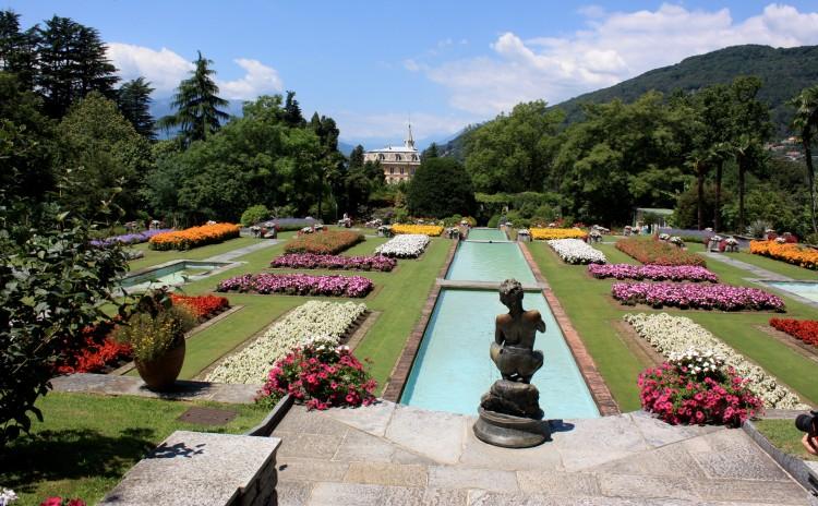 Piemonte - Botanical gardens, Villa Taranto