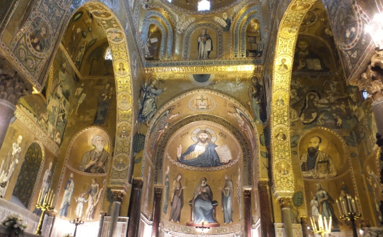 Sicilia - Cappella Palatina a Palermo