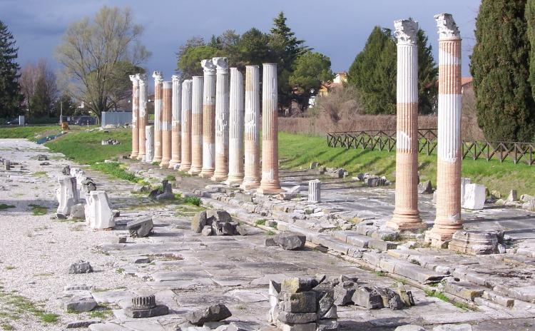 Friuli Venezia Giulia - Foro romano, Aquileia