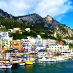 Campania - Habour of Capri
