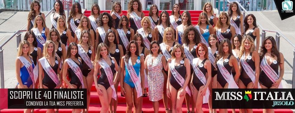 Miss Italia 2016 - 40 finaliste