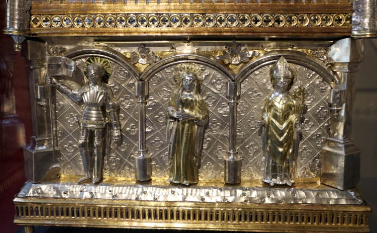 Valle d'Aosta - Reliquary of the Mandible of Saint Grato