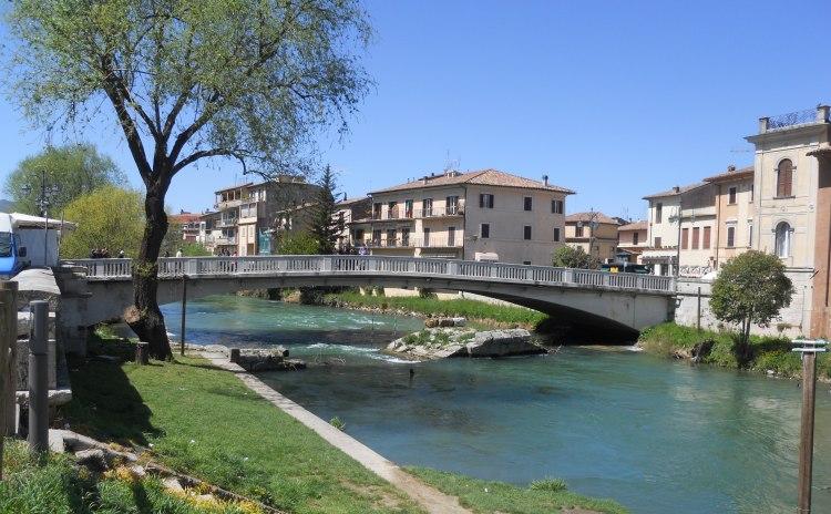 Lazio - Ponte romano di Rieti