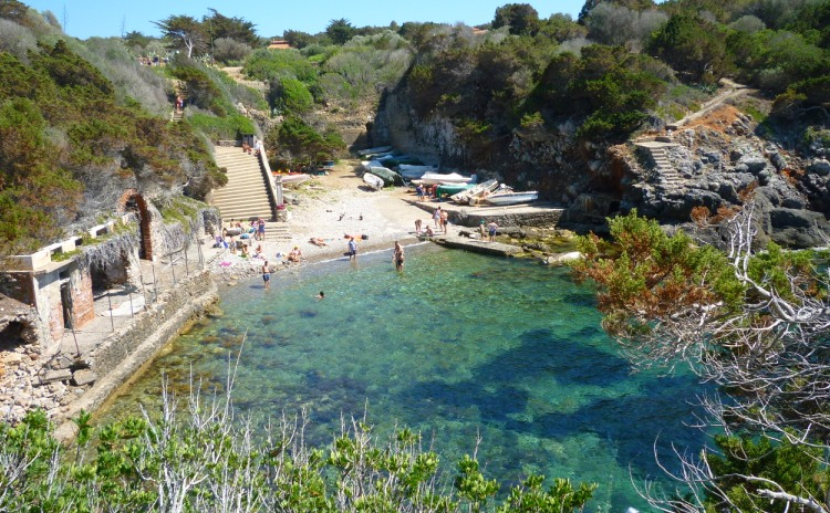 Toscana - Porto Romano dell'Isola di Giannutri