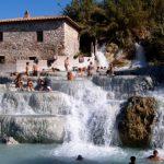 Toscana - Cascate del Mulino, Saturnia