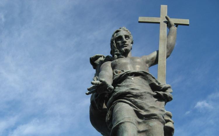 Sardinia - Statua del Redentore, Sassari