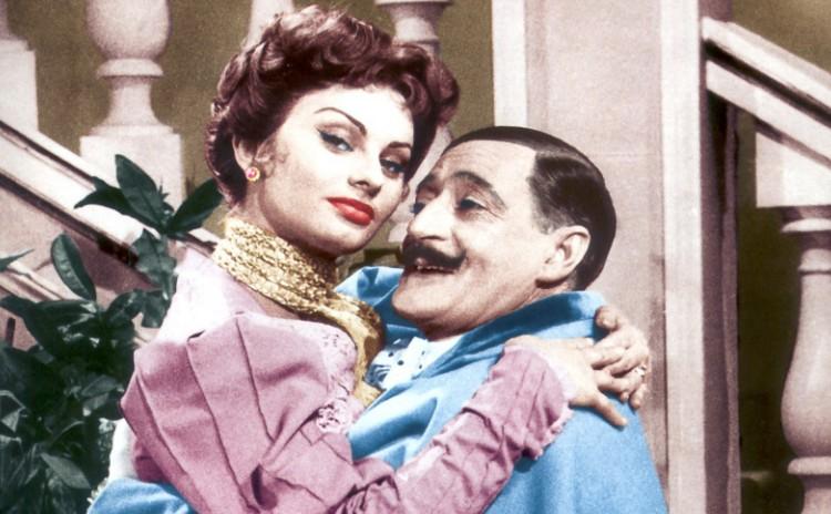 Campania - Totò and Sophia Loren