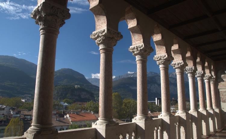 Trentino Alto Adige - Castello Buonconsiglio, Loggia veneziana (Trento)