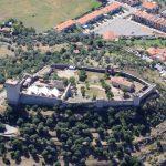 Sardegna - Veduta aerea del Castello Malaspina a Bosa