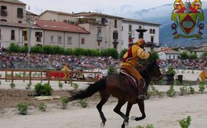 Giostra cavalleresca in Sulmona