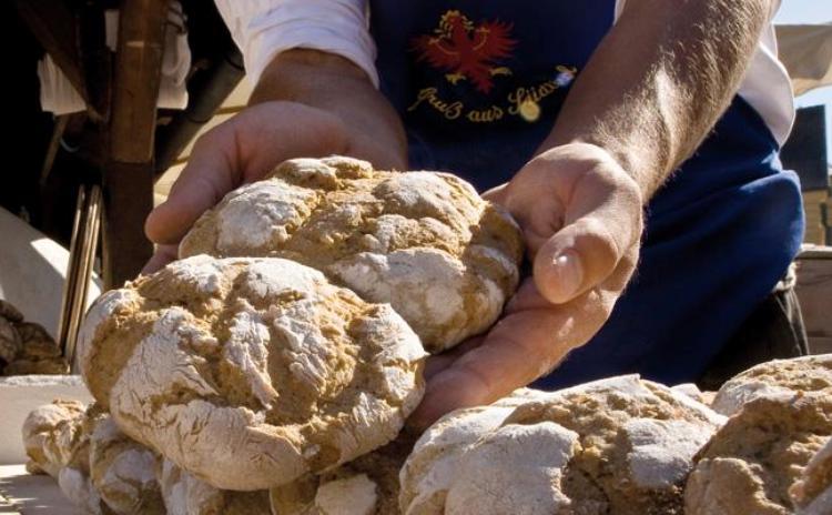 Bread and Strudel Market - Bressanone Trentino Alto Adige Italy
