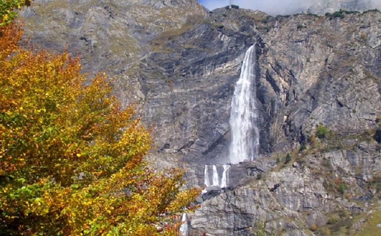 Lombardia - Cascate del Serio Ottobre