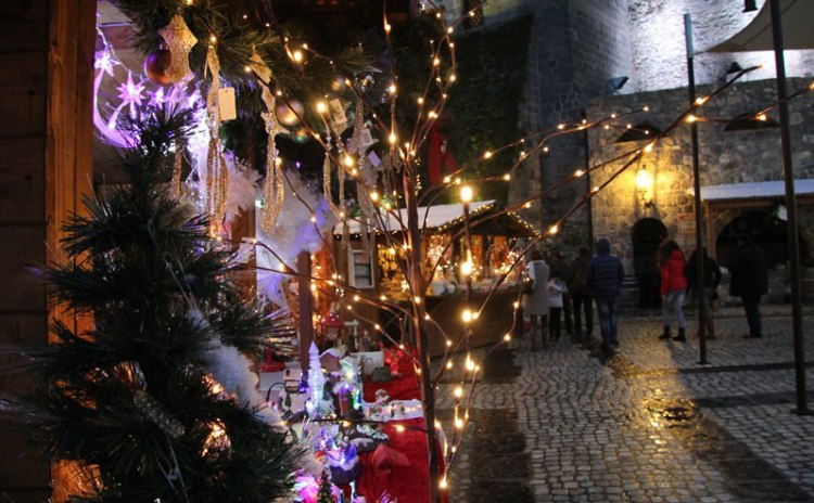 Christmas Market in Limatola Castle