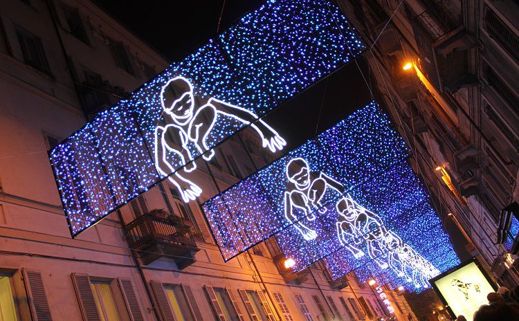 Artists' Lights in Turin