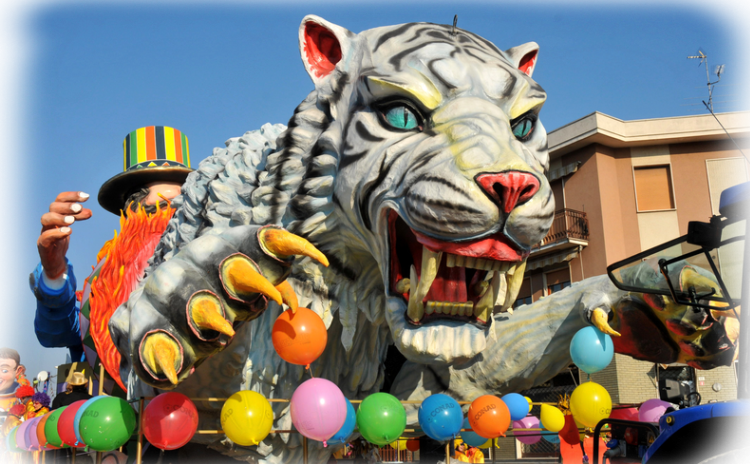 The Great Historic Carnival of Busseto - Parma, Italy