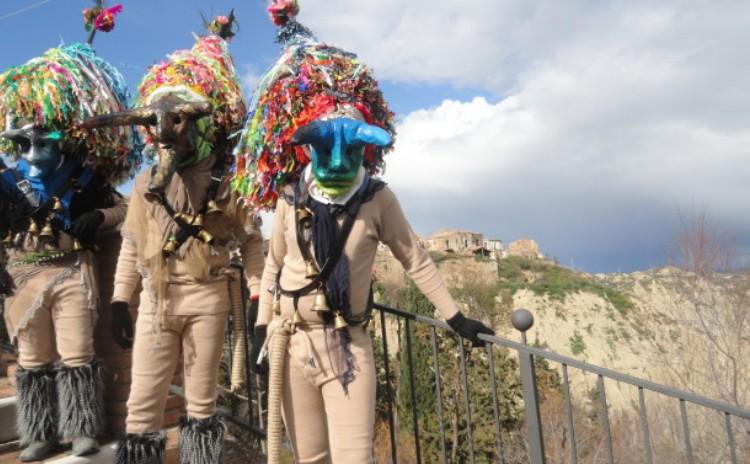 Carnival in Aliano