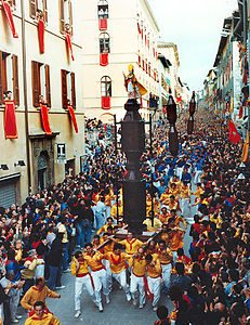 The Ceri Race - Gubbio (Perugia)